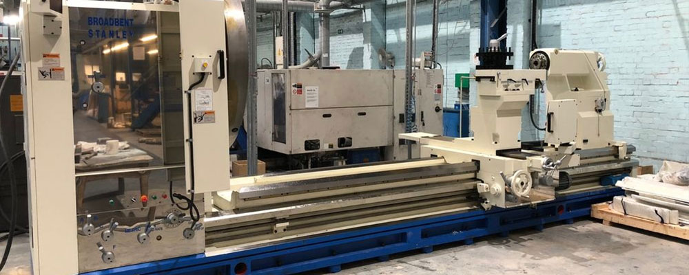 Tufcot Investments purchase Broadbent Stanley Lathe