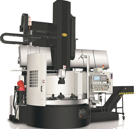 Introducing Radar's RAL series of Vertical Turning Lathes
