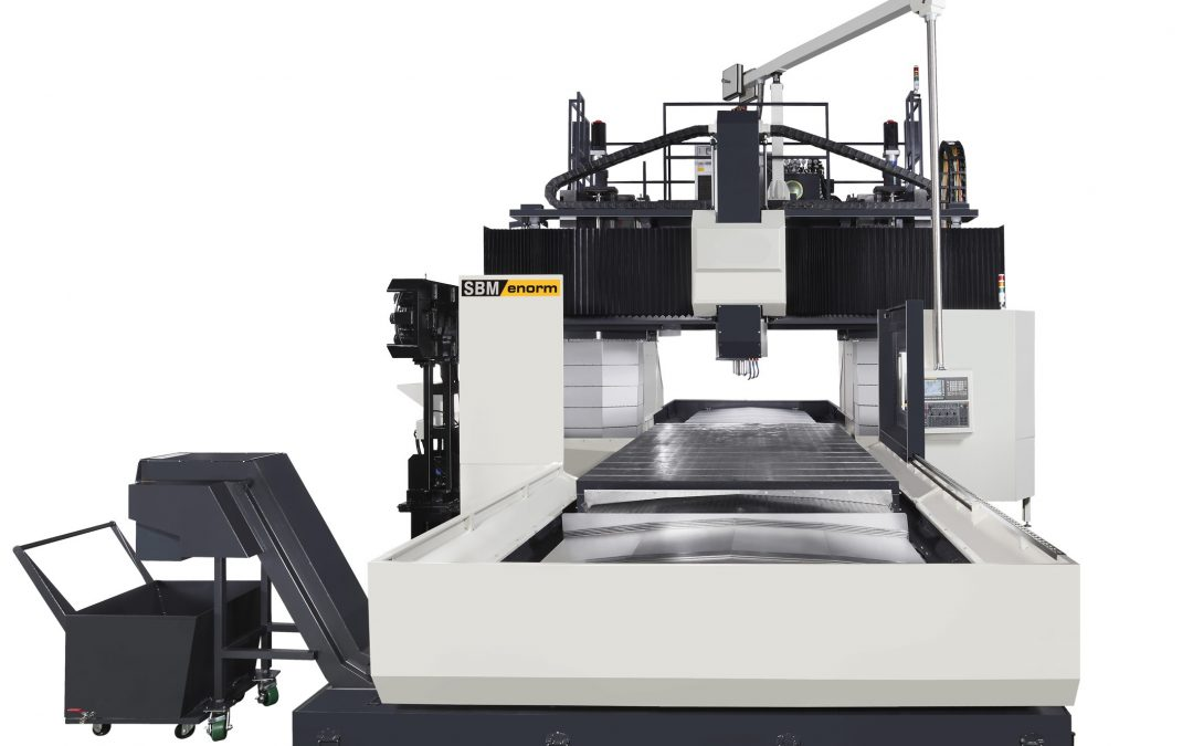 Heavy-duty focus on quality and performance with the double column machining centres
