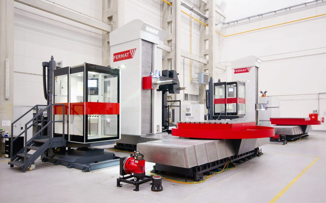Broadbent Stanley Gain Exclusive Rights to Fermat's Large Capacity Boring and Grinding Machines